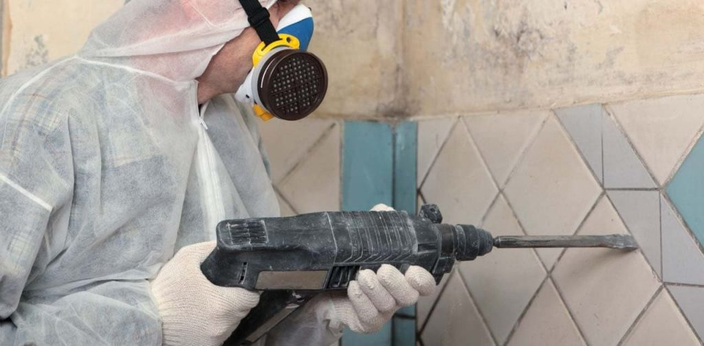 how to remove ceramic tile without breaking it
